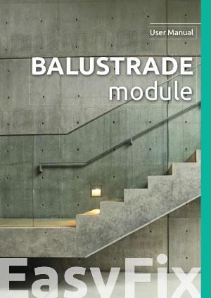 Balustrade module  – User Manual