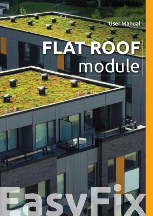 Flat roof module  – User Manual